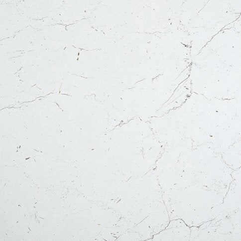 3.6m x 38mm Square White/Grey Marble Effect Laminate Kitchen Worktop