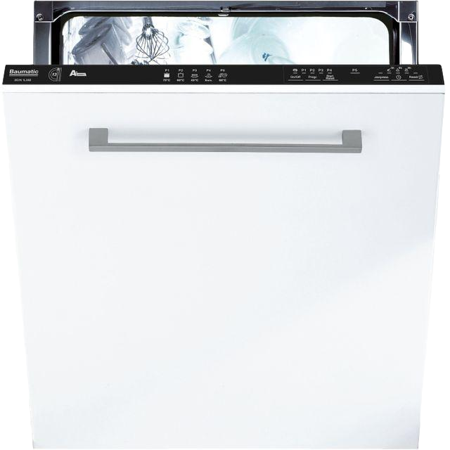 Baumatic BDIN1L38B80 Integrated Standard Dishwasher - Black