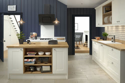 SHAKER KITCHEN IN CREAM