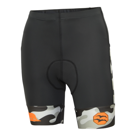 Camo Orange Women's Cargo Short