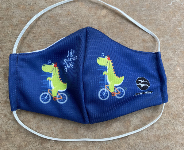 KIDS DINO SPORT FACE MASK