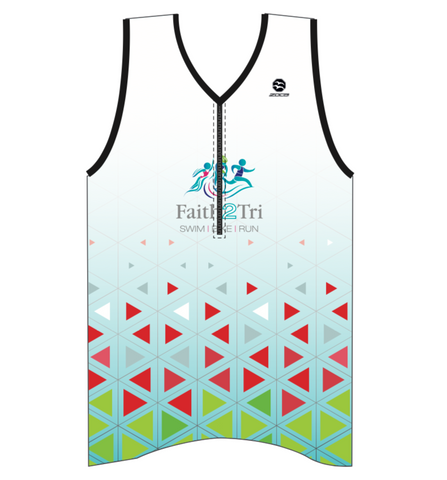 FAITH2TRI ZX1 Men's Tri Top