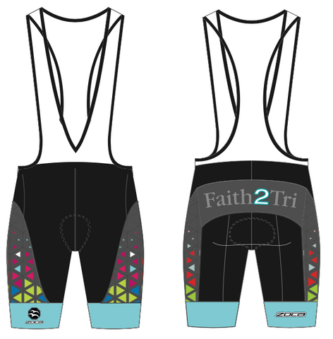 FAITH2TRI Z1 Women's Cycling Bib