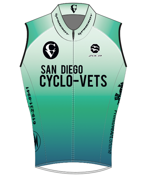 2021 CycloVets Men's Vest (w/pockets!)
