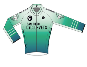 2021 CycloVets Women's Long Sleeve Pro Jersey
