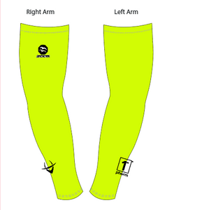 IC100 Lime Unisex Arm Coolers