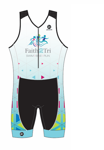 FAITH2TRI ZX1 Men's Tri Suit