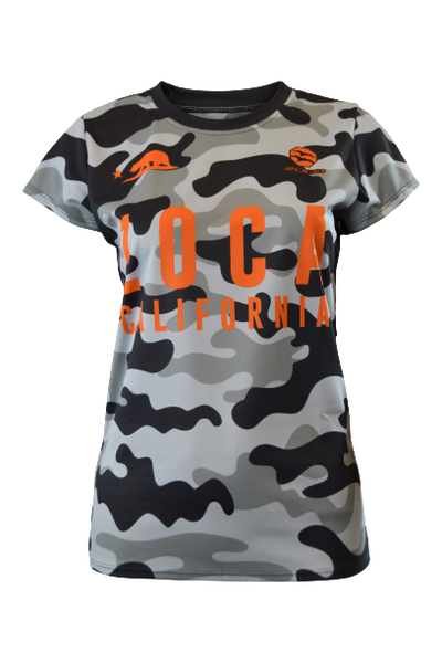 ORANGE CAMO Women's Tech Tee