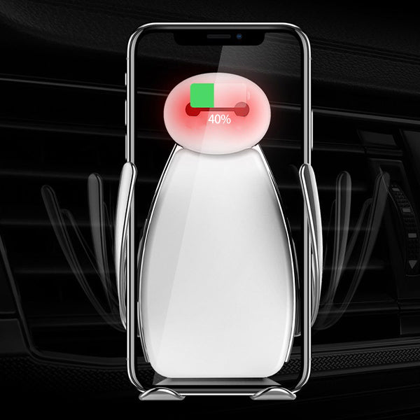 🎀Smart induction car wireless charging stand📱