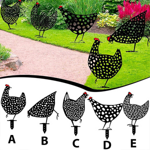 Decorative garden hens (Buy 4 free shipping)