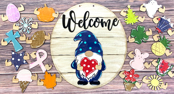 Mother's Day Promotion | Gnome Door Hanger (19 shapes included)-Buy 2 Free Shipping