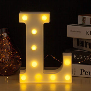 LED Letter Lights for Decoration