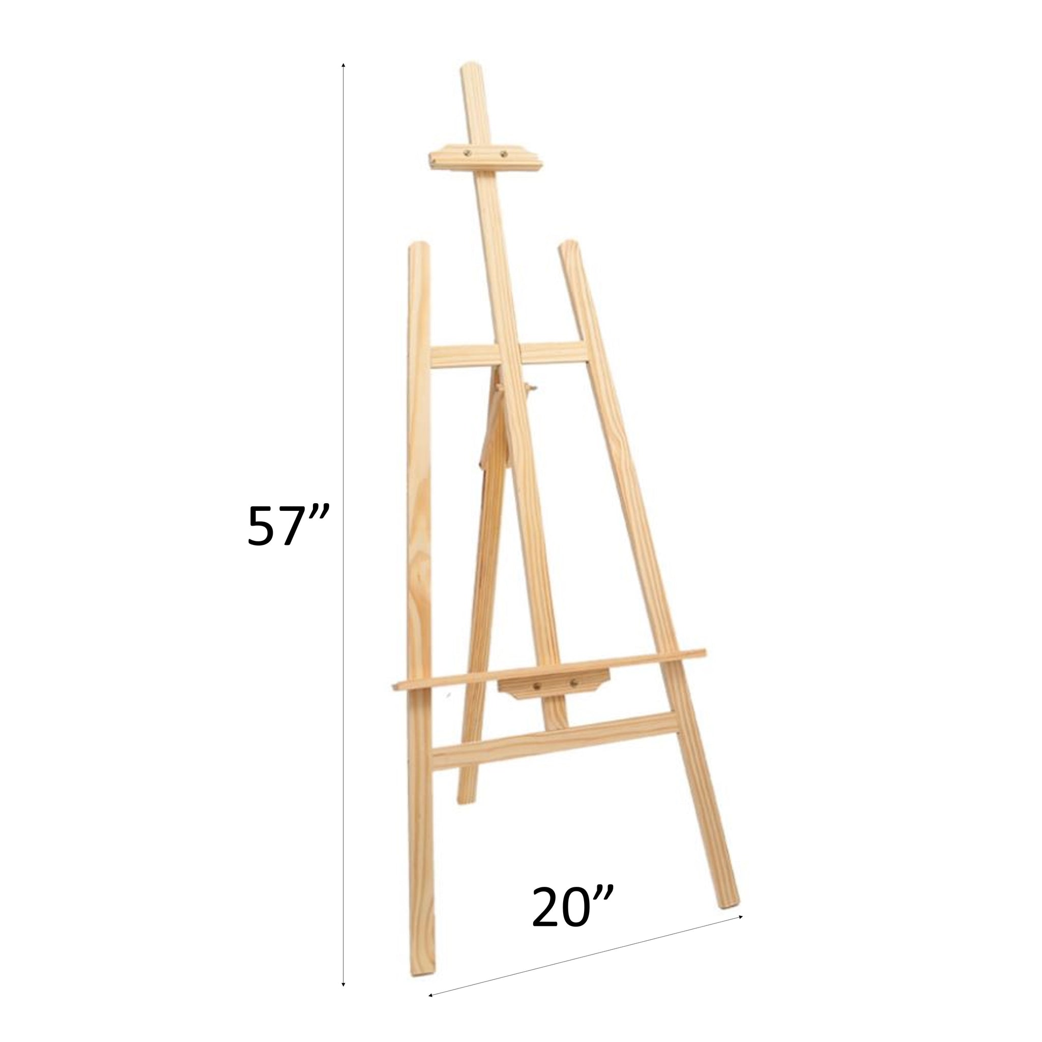 Full-size Wooden Easel Stand