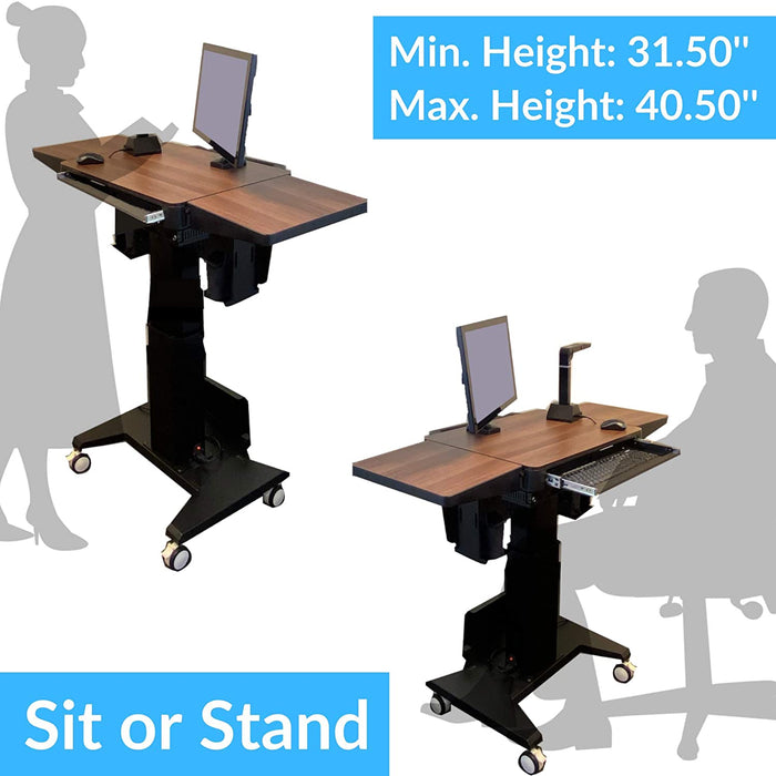 AVT - Adjustable Sit-to-Stand Workstation