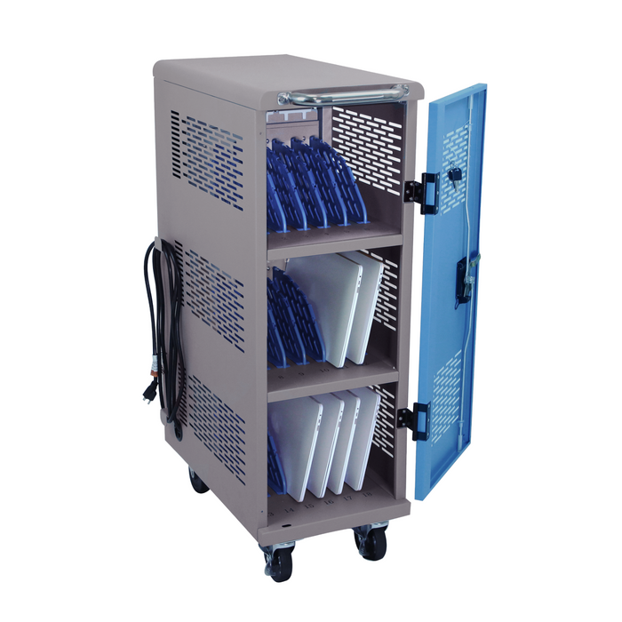 Y618A - Fully Assembled 18-Unit Charging Cart