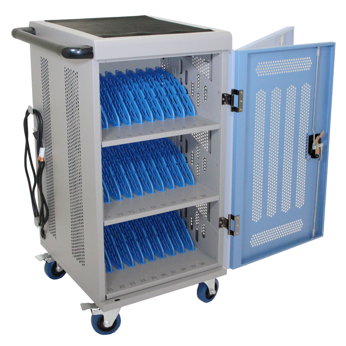 Y630A - Fully Assembled 30-Unit Charging Cart