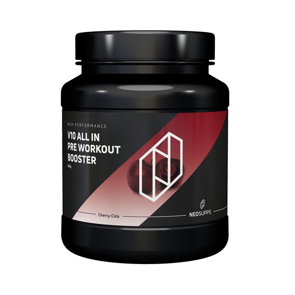 "Pre Workout Booster V10 ALL IN 500g ""Kirsche-Cola"""