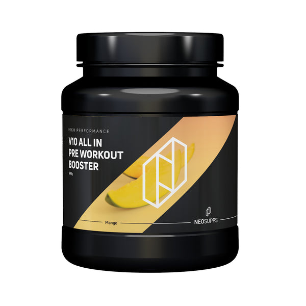 "Pre Workout Booster V10 ALL IN 500g ""Mango"""