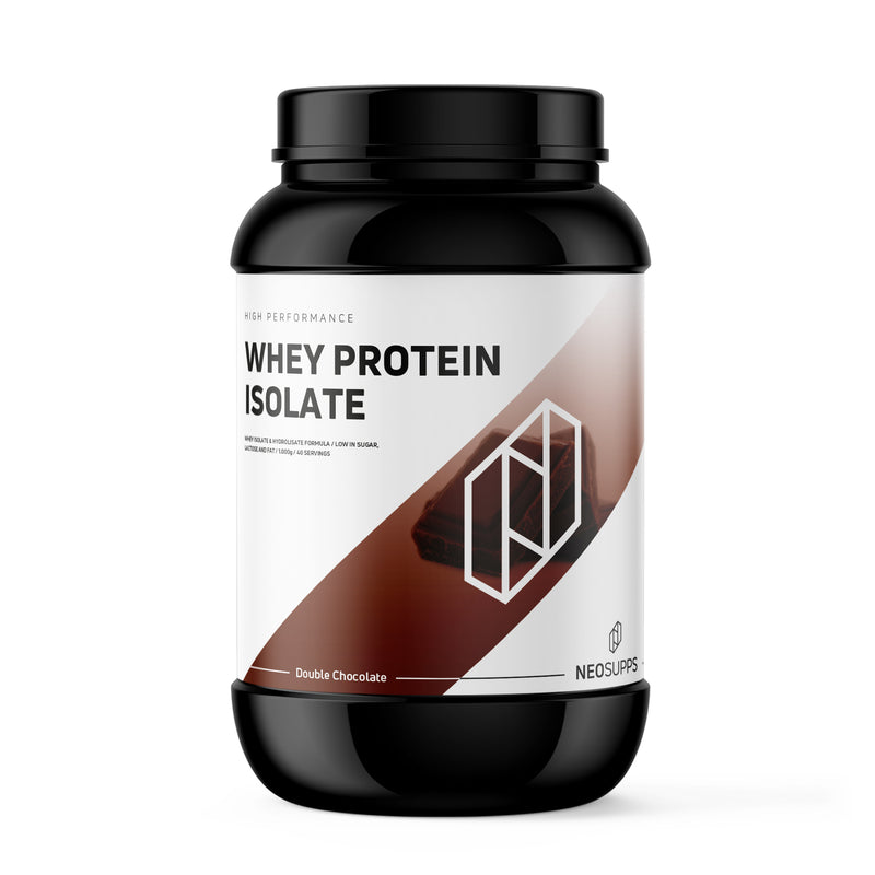 Whey Protein Isolat Double Chocolate 1kg