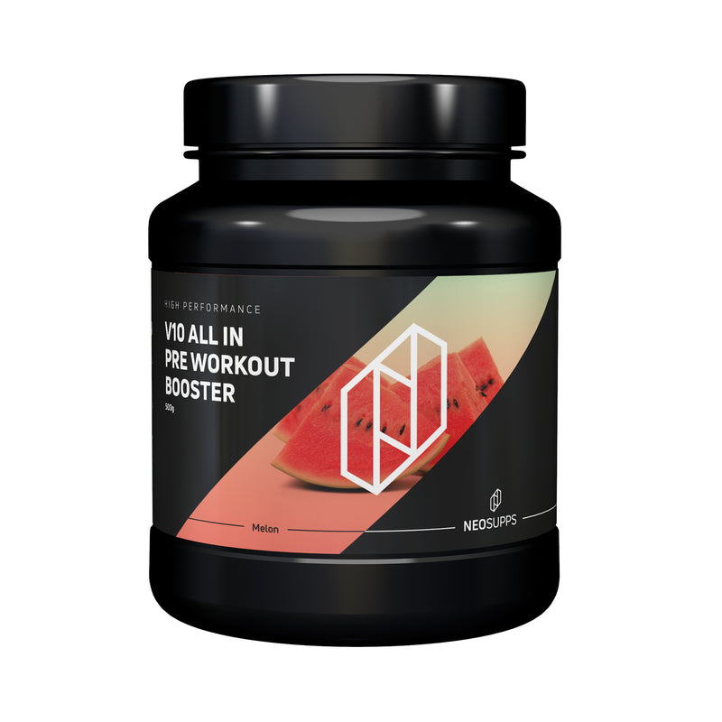 "Pre Workout Booster V10 ALL IN 500g ""Wassermelone"""