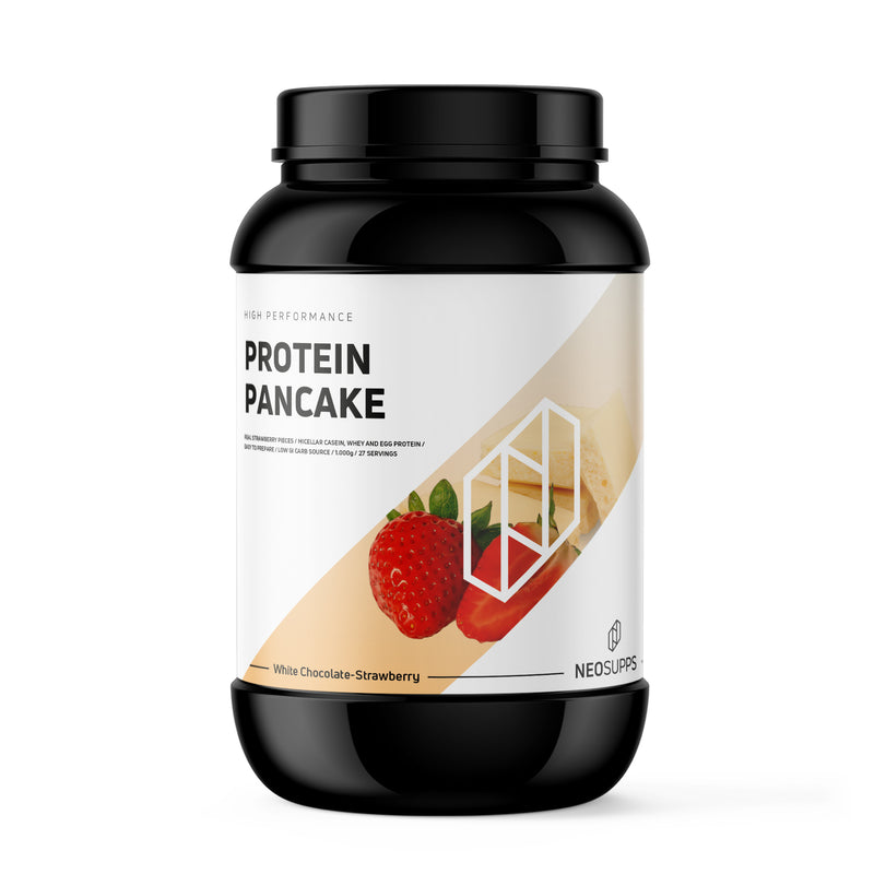Protein Pancake White Chocolate Strawberry