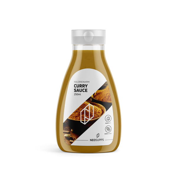 Kalorienarme Curry Sauce 250ml