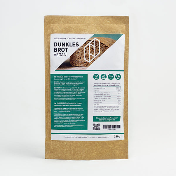 Dunkles Eiweißbrot / Proteinbrot
