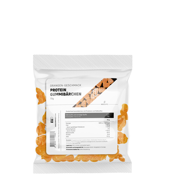 Protein-Gummibärchen Orange