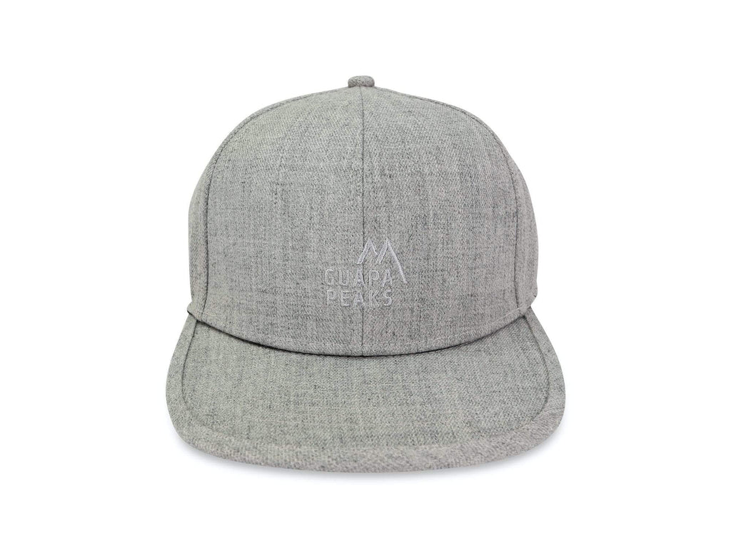Khaki Ripstop & Grey Tweed 6 Panel Cap Set