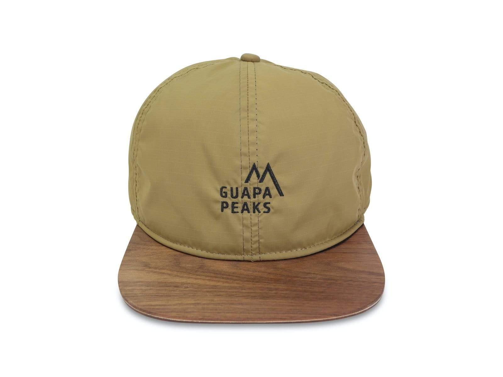 Khaki Ripstop Set | Walnut Wood + Free Fabric Visor