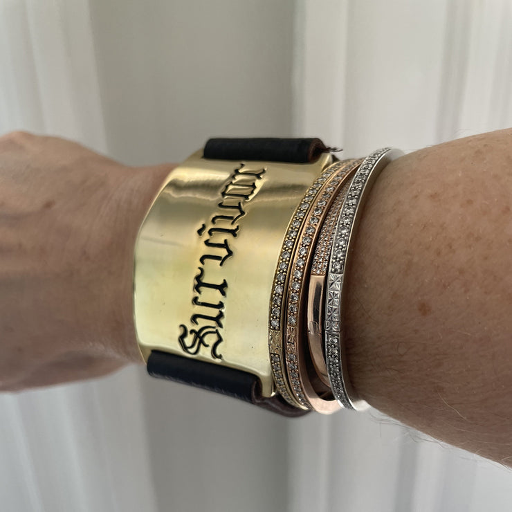 Survivor Cuff-Gold