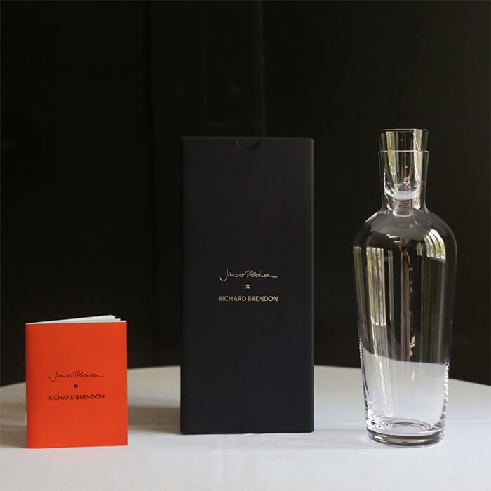 Jancis Robinson x Richard Brendon Mature Wine Decanter