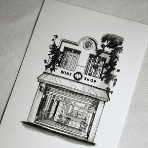 City Wine Shop Print