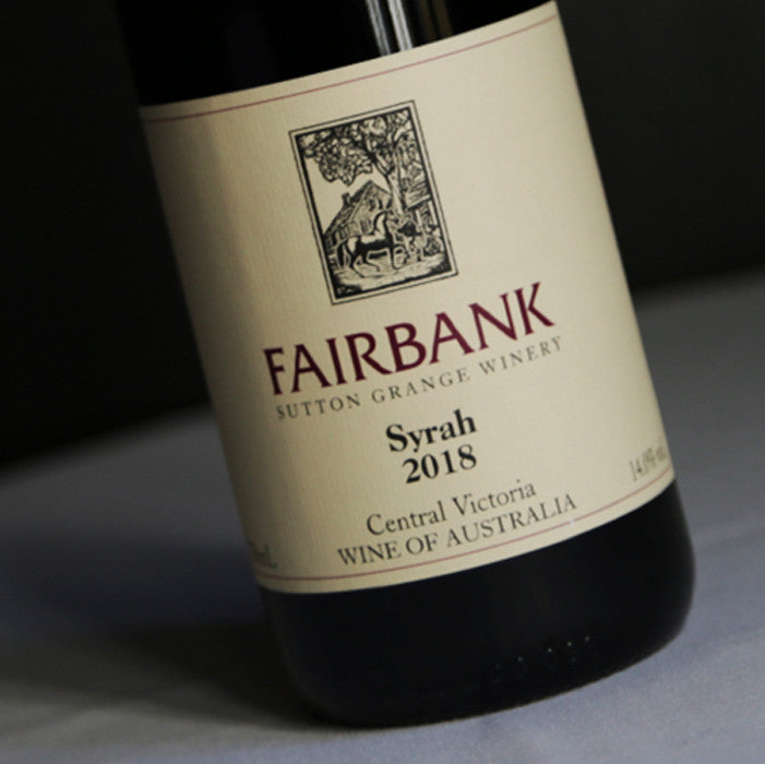 2018 Sutton Grange Fairbank Syrah