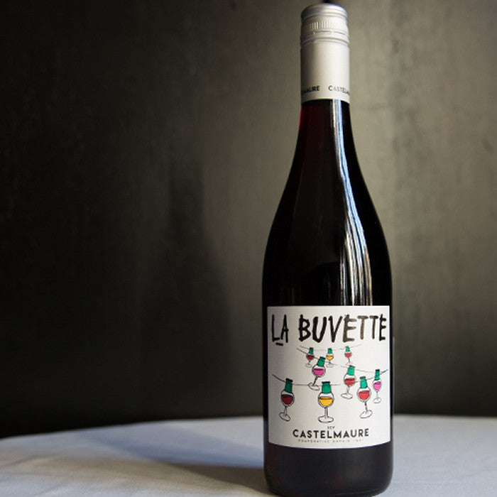 Load image into Gallery viewer, 2018 Castelmaure La Buvette Grenache Blend