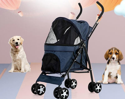 4-wheels Stroller Pet Carrier