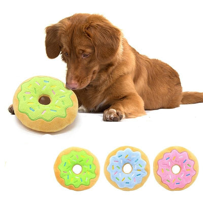 Donut Play Toys For Pet