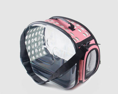 Pet carrier backpack capsule