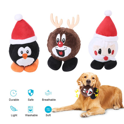 Pets Dog Toy Christmas