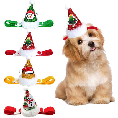 Christmas Dog Hat Cute Dog