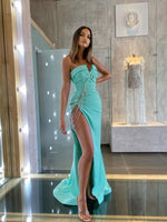 MINT CHAINED DRESS