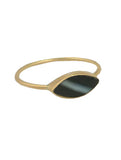 Seeker Marquis Onyx Stacking Ring