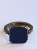 Navy Bague Ring