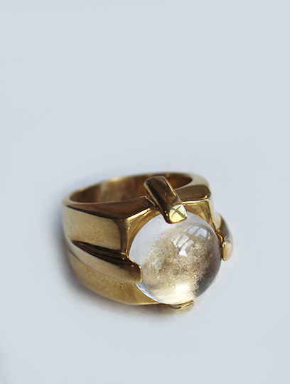 Dasha Ring in Brass