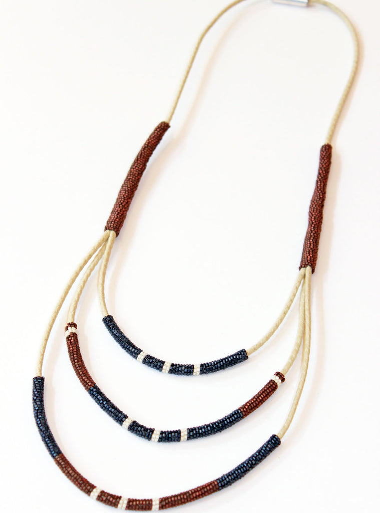Wrap Necklace by Fiona Paxton