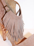 Rosaura Heel with Fringe