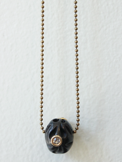 Black Tama Necklace
