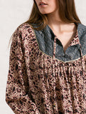 Boho Blouse with Lurex