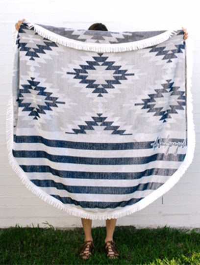 The Montauk Round Towel