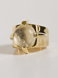 Dasha Ring in Brass by Pamela Love